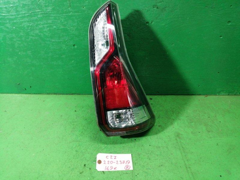 Стоп-сигнал Nissan Serena C27 правый (б/у)