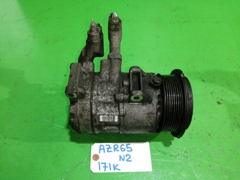 Компрессор кондиционера Toyota Voxy AZR65 (б/у) №2