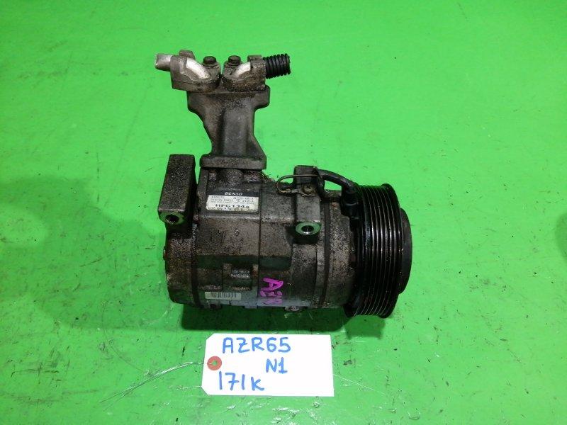 Компрессор кондиционера Toyota Voxy AZR65 (б/у) №1