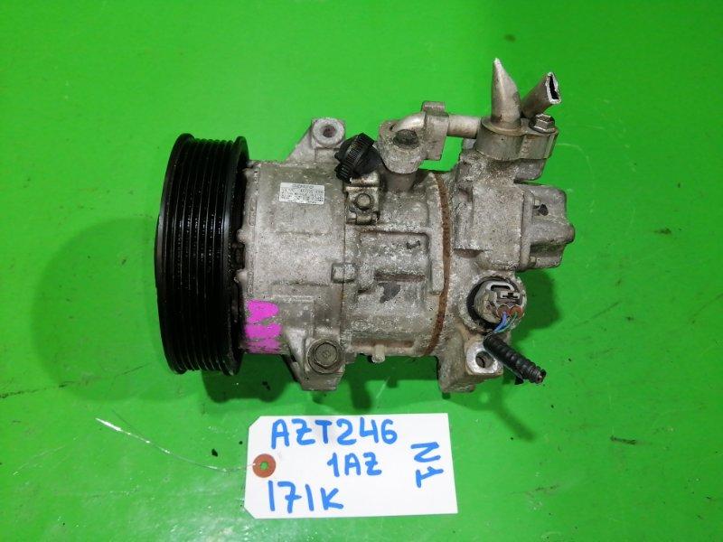 Компрессор кондиционера Toyota Caldina AZT246 1AZ-FSE (б/у) №1