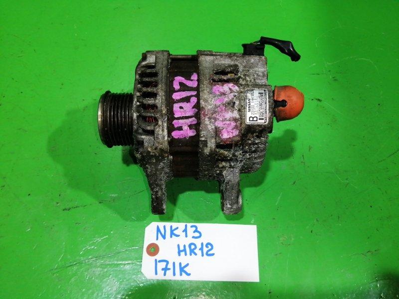 Генератор Nissan March K13 HR12-DE (б/у)