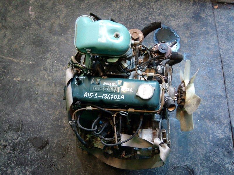 Двигатель Nissan Vanette HC122 A15S (б/у)