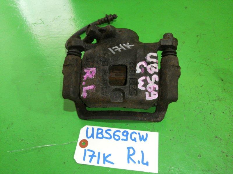Суппорт Isuzu Bighorn UBS69 задний левый (б/у)