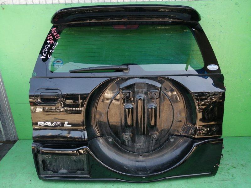 Дверь задняя Toyota Rav4 ACA21 (б/у)