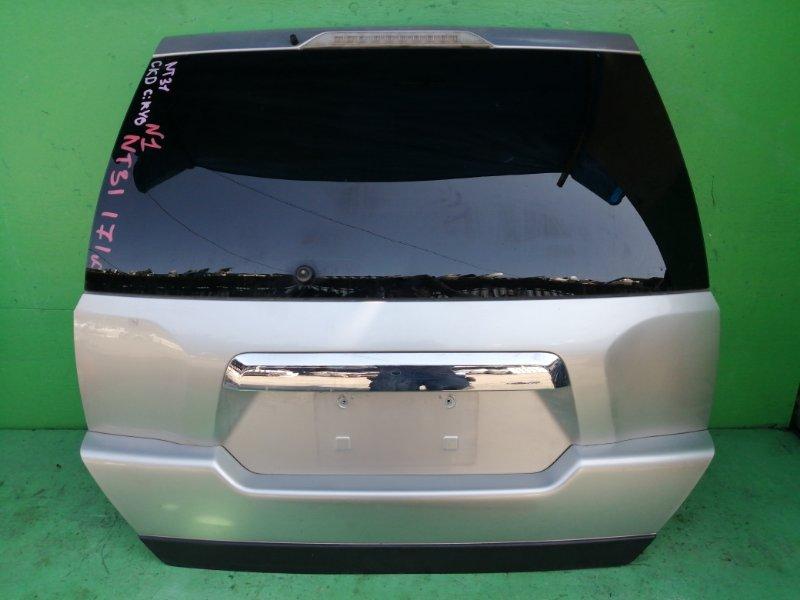 Дверь задняя Nissan Xtrail NT31 (б/у) N1