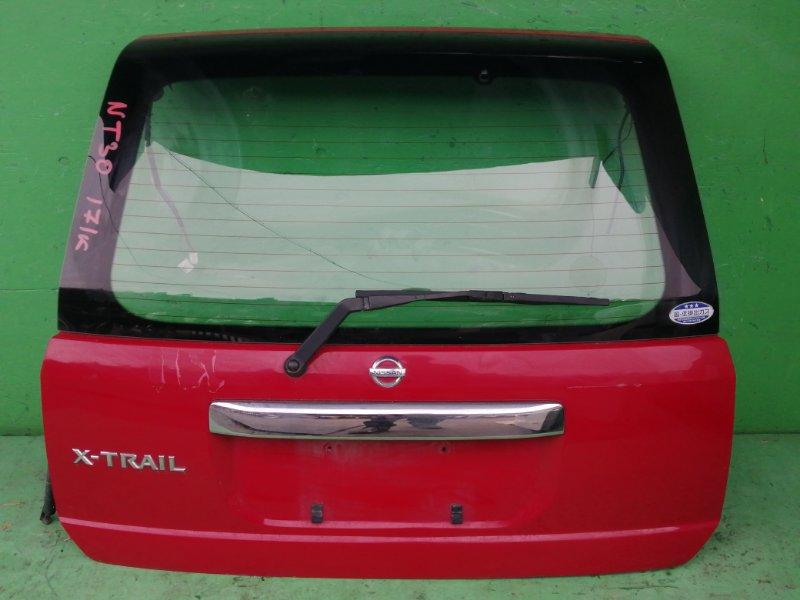 Дверь задняя Nissan Xtrail NT30 (б/у)