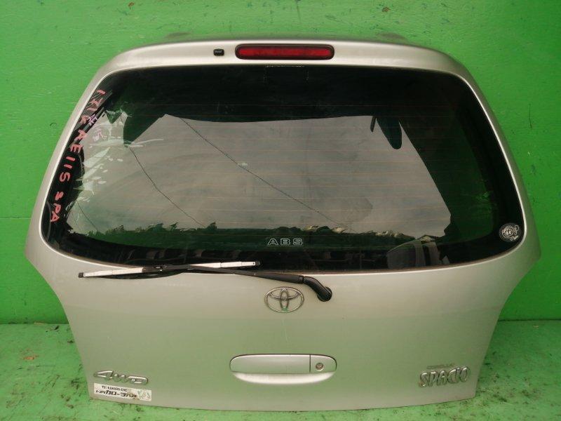 Дверь задняя Toyota Spacio AE115 (б/у)