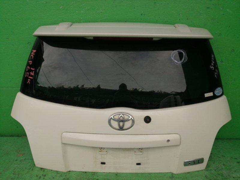 Дверь задняя Toyota Ist NCP65 (б/у)