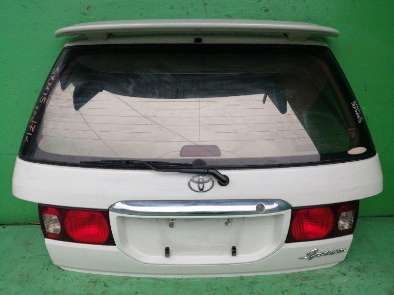 Дверь задняя Toyota Ipsum SXM15 (б/у)