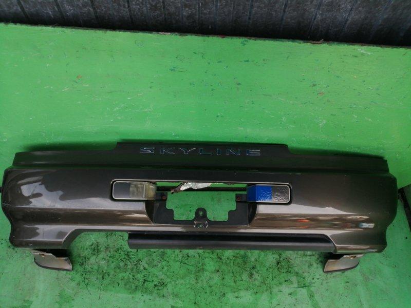 Бампер Nissan Skyline R34 задний (б/у)
