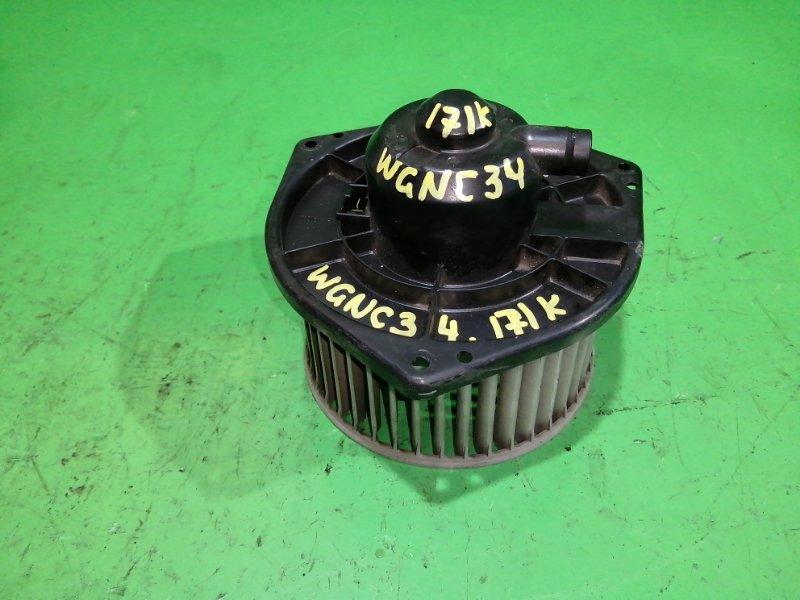 Мотор печки Nissan Stagea C34 (б/у)