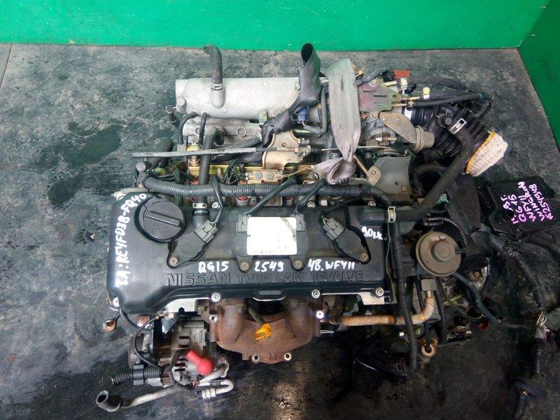 Двигатель Nissan Wingroad Y11 QG15-DE 1999 (б/у)