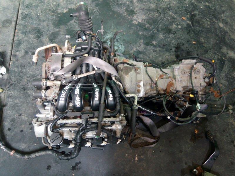 Двигатель Toyota Sparky S231E K3-VE 2001 (б/у)