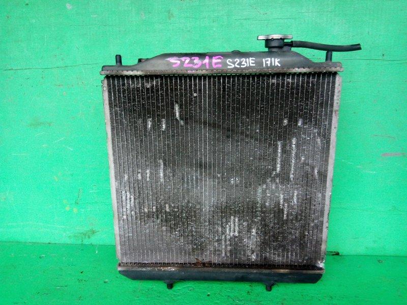 Радиатор основной Toyota Sparky S231E K3-VE (б/у)