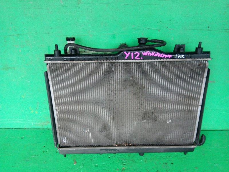 Радиатор основной Nissan Wingroad Y12 (б/у)