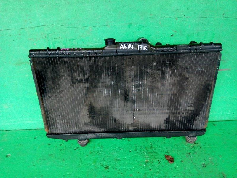 Радиатор основной Toyota Carib AE114 4A-FE (б/у)