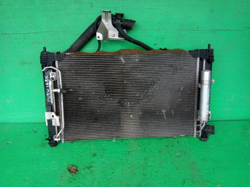 Радиатор основной Mitsubishi Outlander CU5W 4B12 (б/у)