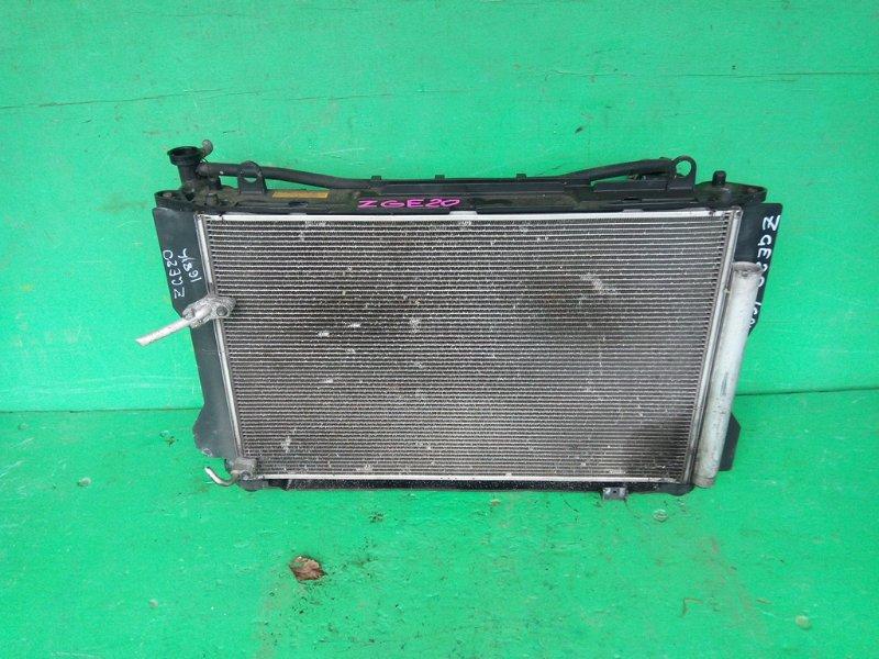 Радиатор основной Toyota Wish ZGE20 2ZR-FAE (б/у)
