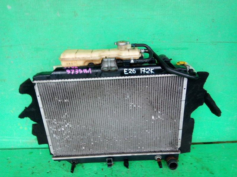 Радиатор основной Nissan Caravan E26 YD25 (б/у)
