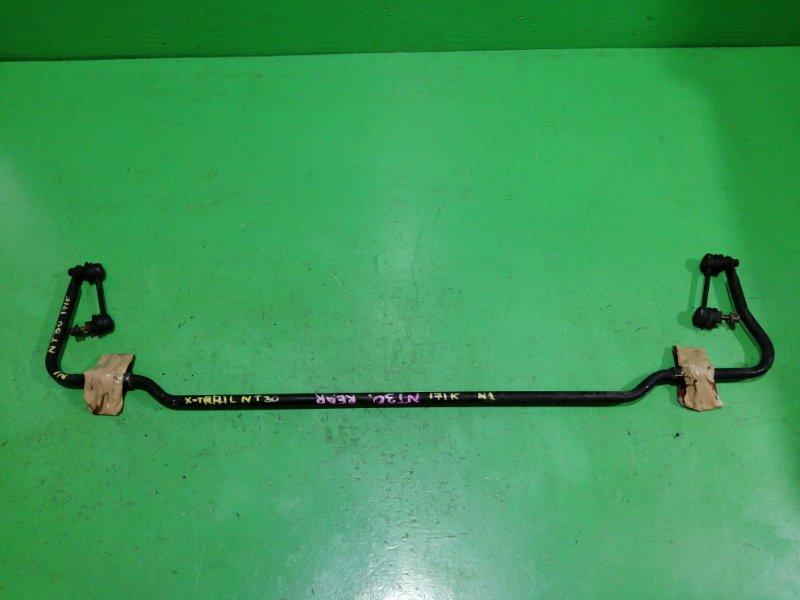 Стабилизатор Nissan Xtrail NT30 задний (б/у) №1