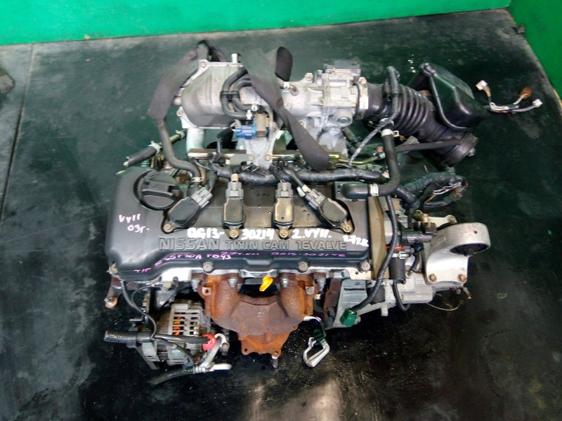 Двигатель Nissan Wingroad Y11 QG13-DE 2003 (б/у)
