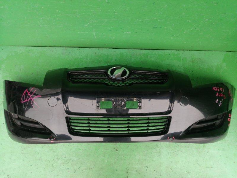 Бампер Toyota Auris NZE151 2007 передний (б/у)
