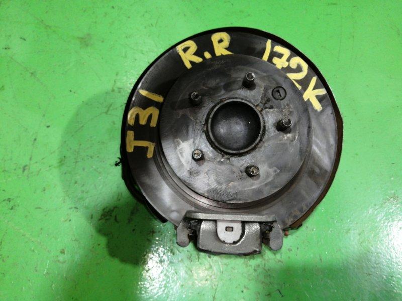 Ступица Nissan Teana J31 задняя правая (б/у)