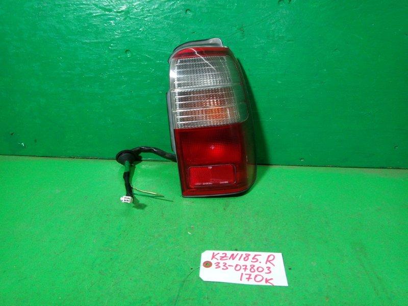 Стоп-сигнал Toyota Surf KZN185 правый (б/у)