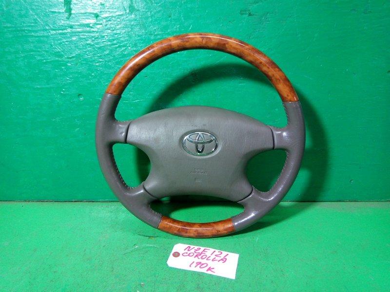 Руль с airbag Toyota Corolla NZE121 1NZ-FE (б/у)