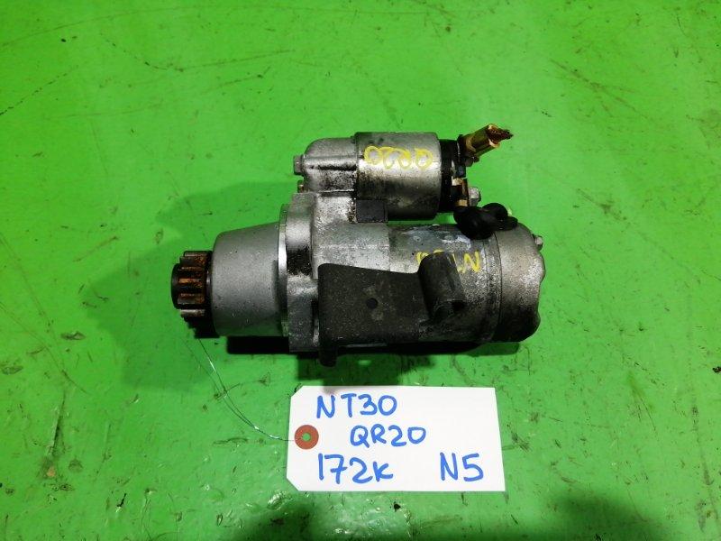 Стартер Nissan Xtrail NT30 QR20-DE (б/у) №5