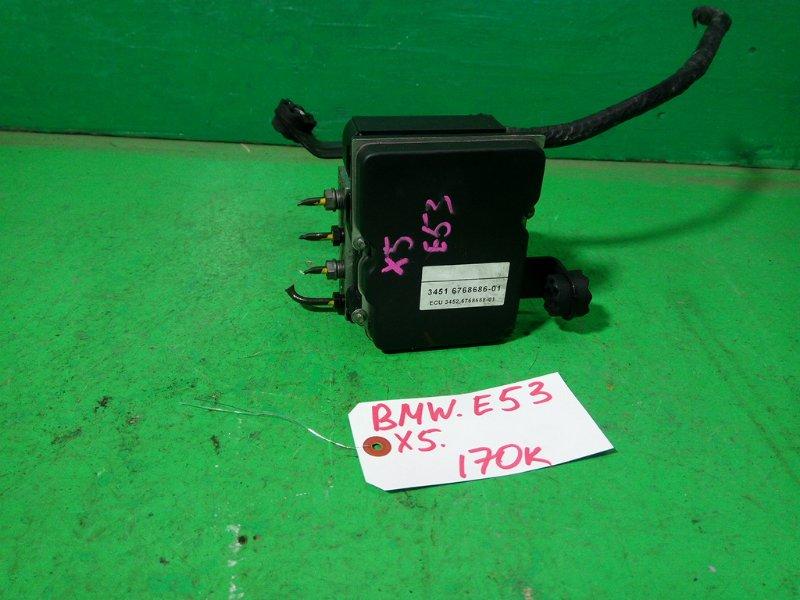Блок abs Bmw X5 E53 N62B44A (б/у)