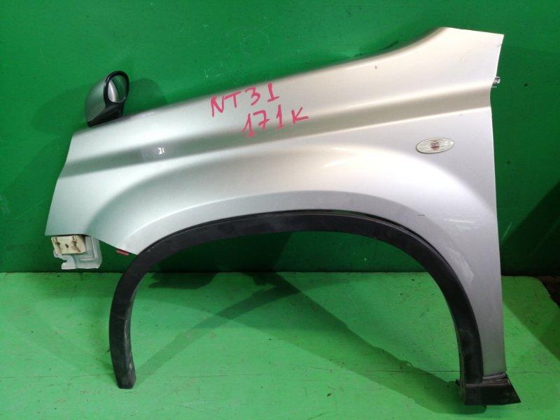 Крыло Nissan Xtrail NT31 левое (б/у)