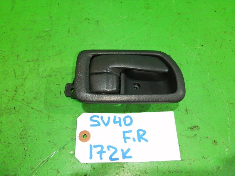 Ручка двери внутренняя Toyota Camry SV40 передняя правая (б/у)