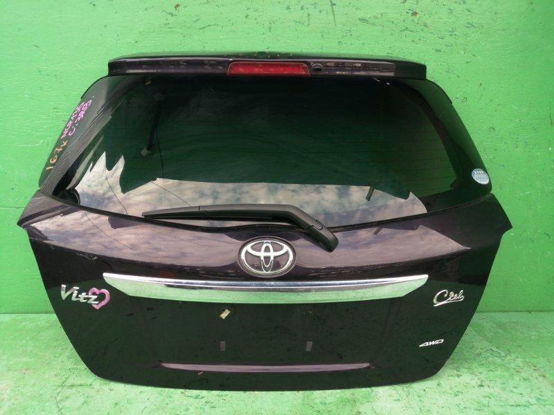 Дверь задняя Toyota Vitz NSP135 (б/у)