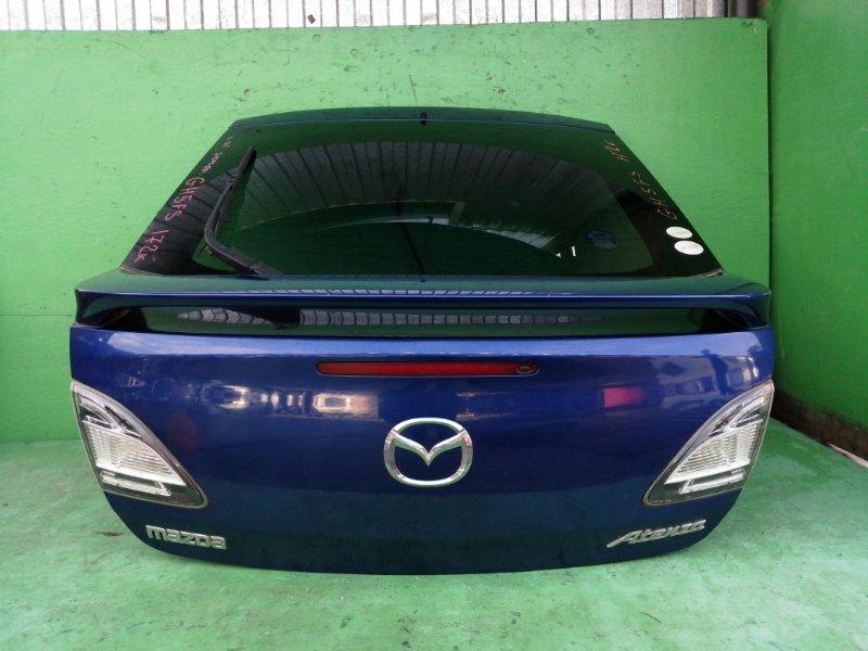 Дверь задняя Mazda Atenza GH5FS 2009 (б/у)