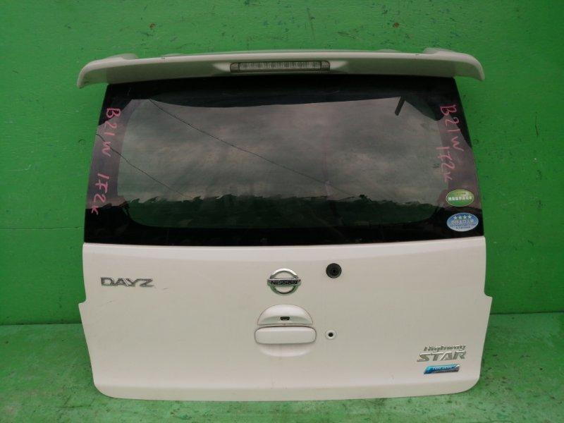 Дверь задняя Nissan Dayz B21W (б/у)