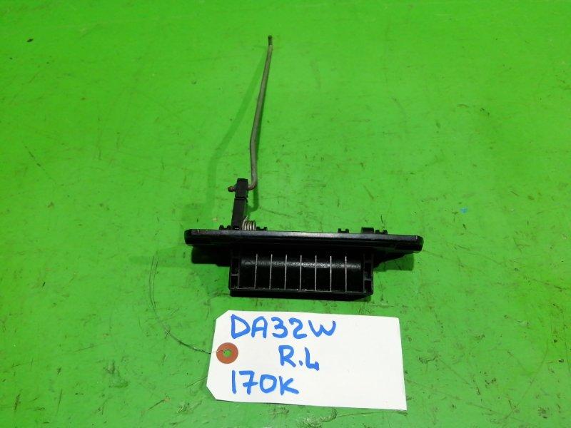 Ручка двери внутренняя Suzuki Every DA32W задняя левая (б/у)