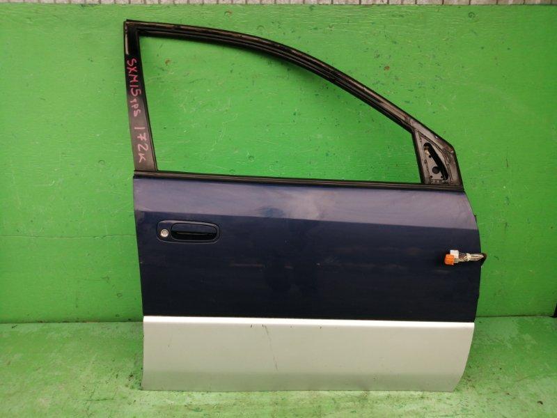 Дверь Toyota Ipsum SXM15 1998 передняя правая (б/у)