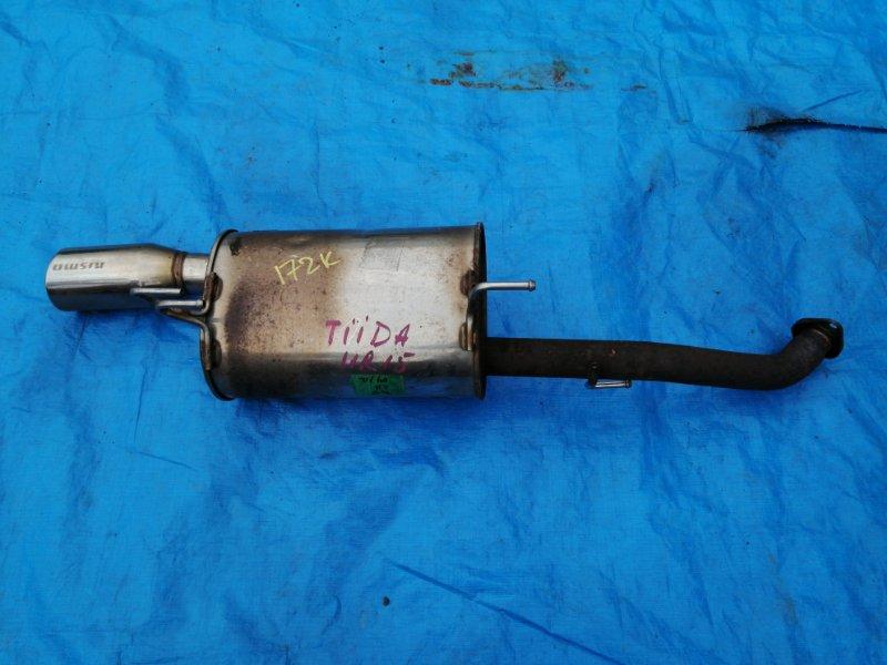 Глушитель Nissan Tiida C11 (б/у)