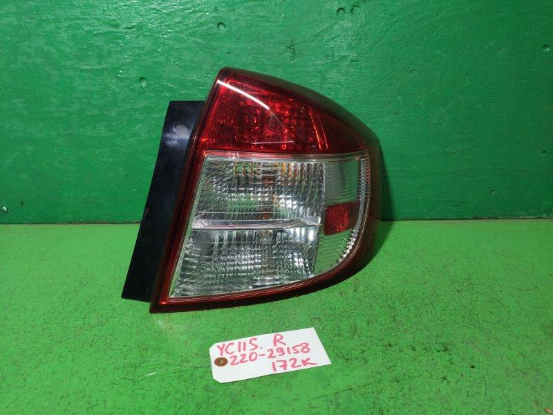 Стоп-сигнал Suzuki Sx4 YC11S правый (б/у)