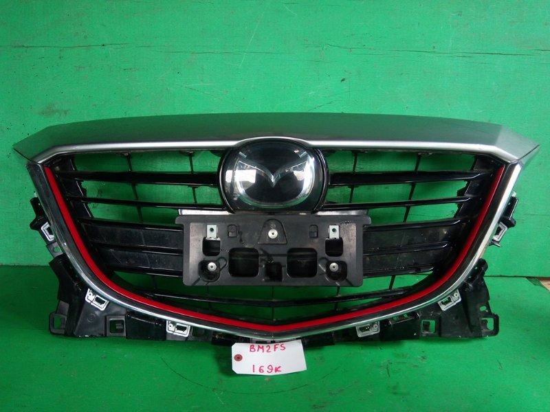 Решетка радиатора Mazda Axela BM2FS 2014 (б/у)