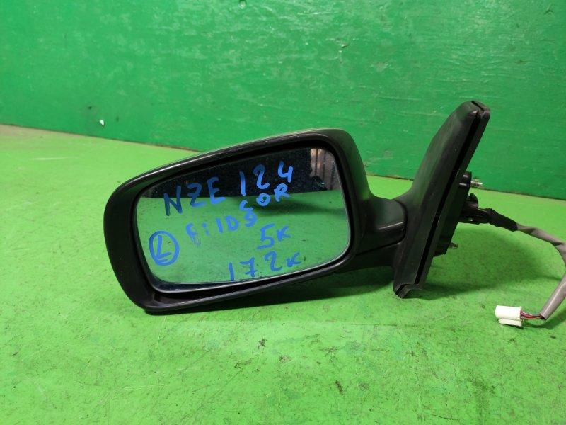 Зеркало Toyota Corolla NZE124 левое (б/у)