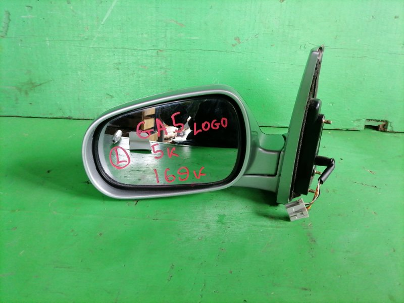 Зеркало Honda Logo GA5 левое (б/у)