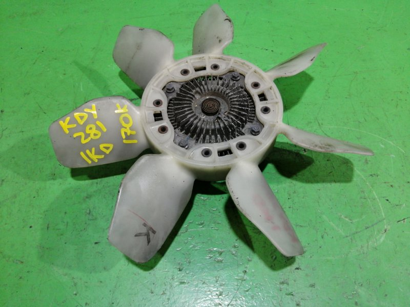 Вентилятор с вискомуфтой Toyota Dyna KDY281 1KD-FTV (б/у)