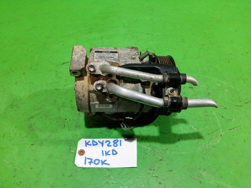 Компрессор кондиционера Toyota Dyna KDY281 1KD-FTV (б/у)