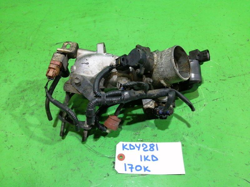 Дроссельная заслонка Toyota Dyna KDY281 1KD-FTV (б/у)