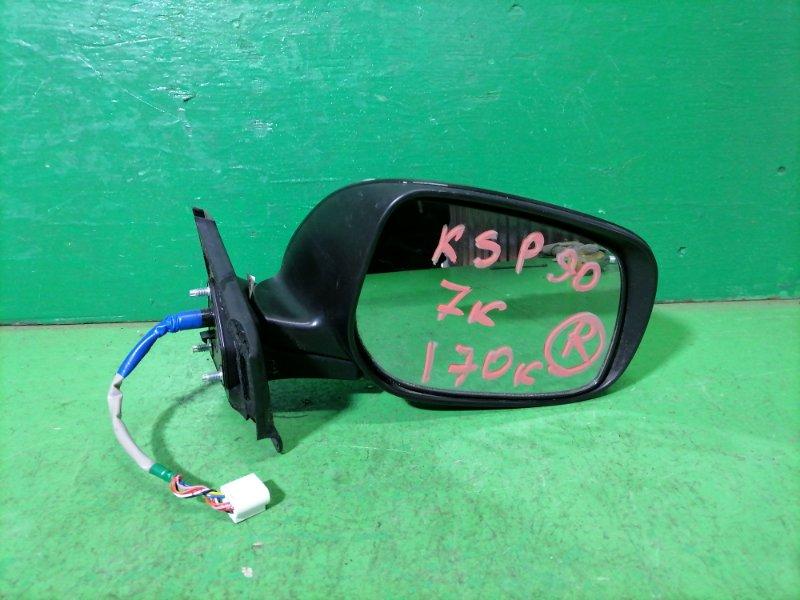 Зеркало Toyota Vitz KSP90 правое (б/у)