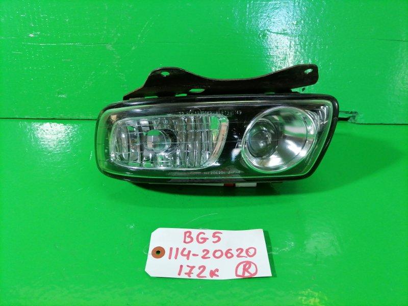 Туманка Subaru Legacy BG5 правая (б/у)