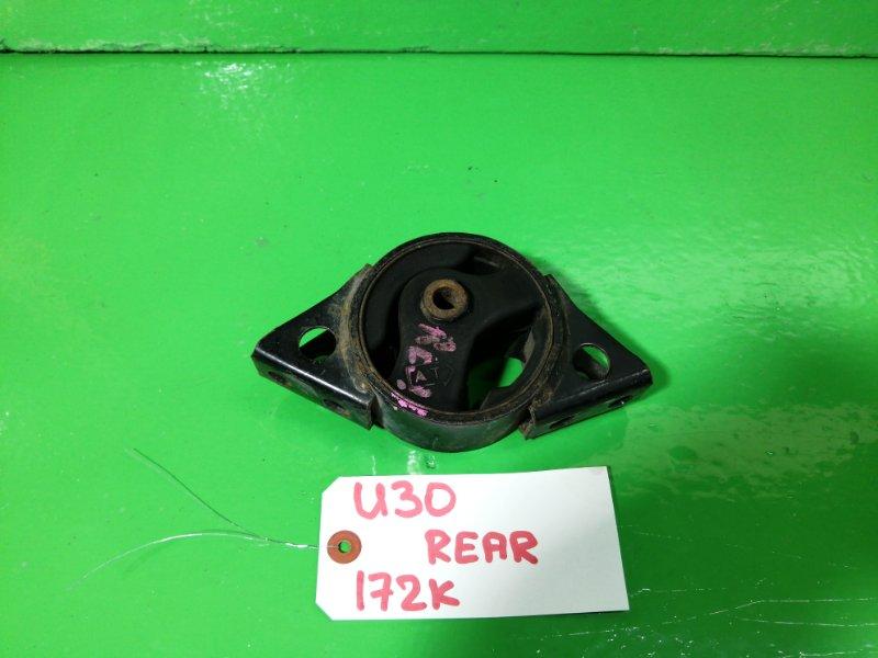 Подушка Nissan Presage U30 KA24-DE задняя (б/у)