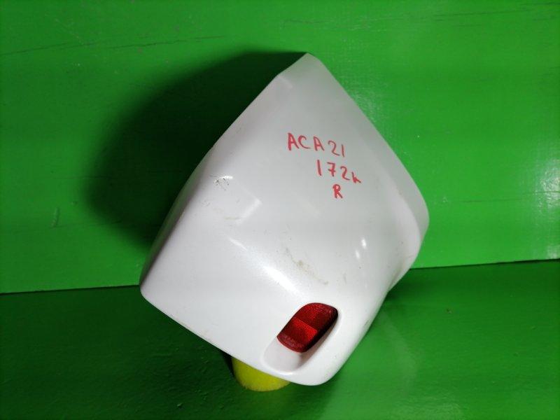 Клык бампера Toyota Rav4 ACA21 задний правый (б/у)